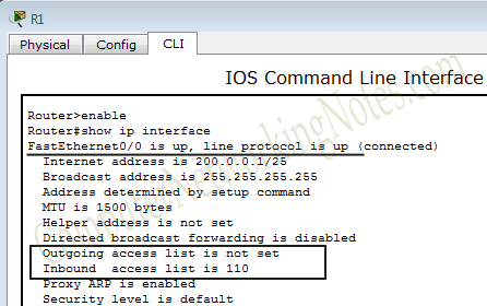 Configure Extended Access Control List Step by Step Guide