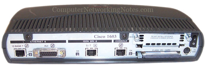 1603 Router interface nomenclature