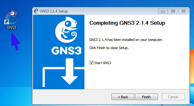 gns3 installed