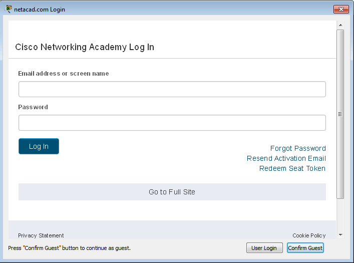 How to install and activate packet tracer in Windows