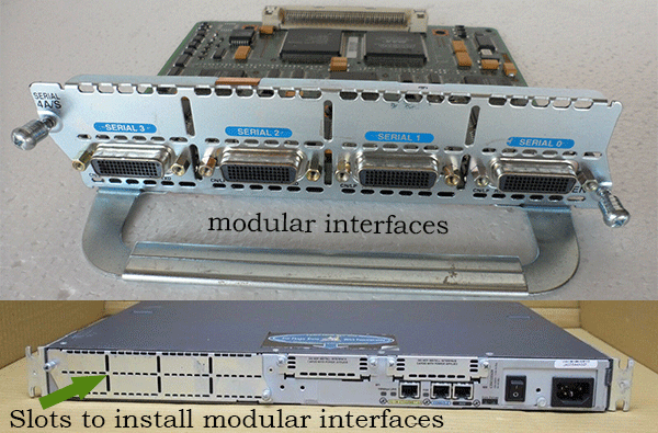 modular chassis router