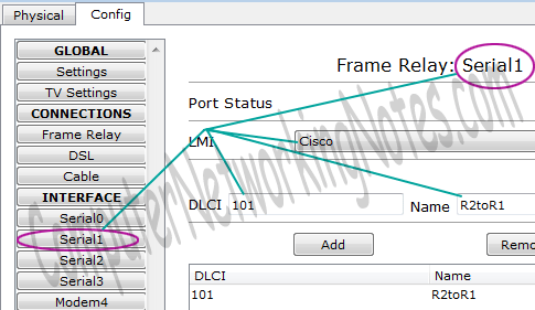configure frame relay in packet tracer step 3