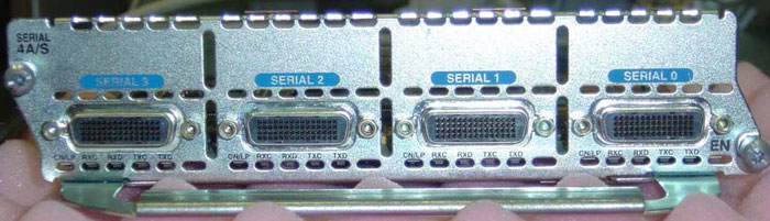 Serial ports for router