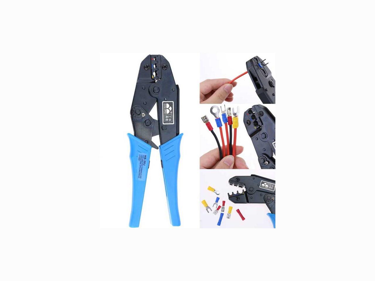 Network cable Crimping and Testing Tools