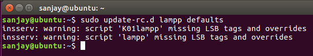 update rc file error