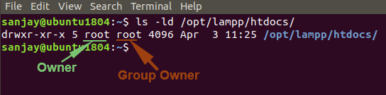 XAMPP htdocs Permission issue and Fix in Ubuntu
