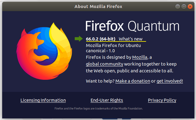 firefox updated