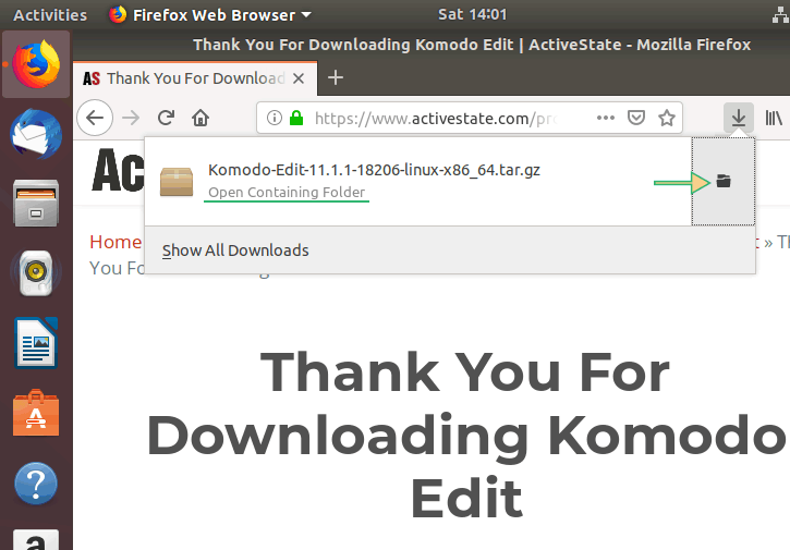 downloading finish