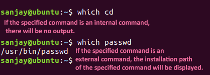 knowing command type