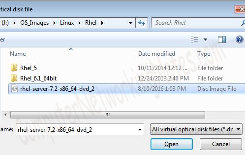 virtual box open ios file
