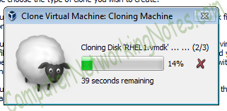 cloning virtual machine