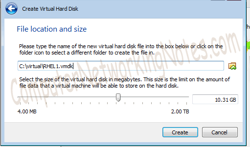 virtual box hard disk location
