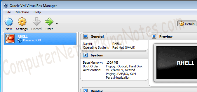 Rhcsa Lab Setup Virtualbox