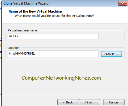 clone name virtual machine