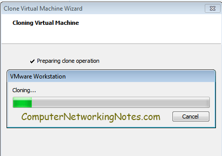 virtual machine cloning
