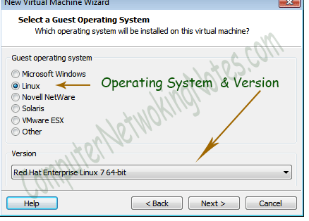 vmware virtual machine operating system