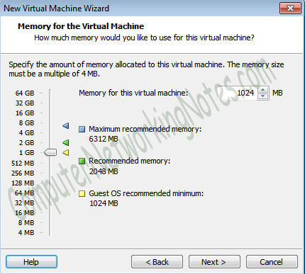virtual machine RAM