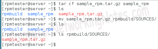 rpm tar