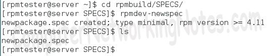 rpmdev-newspec