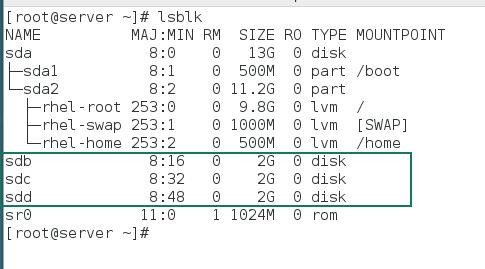 lsblk command