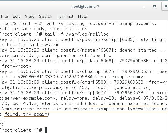 postfix mail log