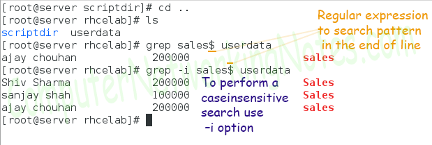 grep search end with specific pattern