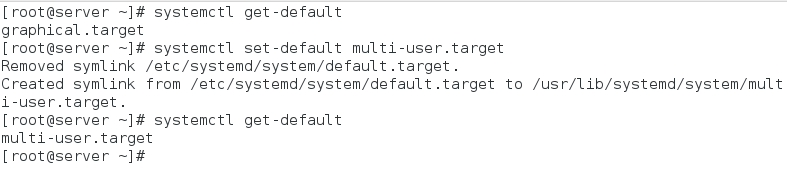 viewing and setting default target units