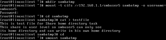 How to Configure Samba Server in Redhat Linux