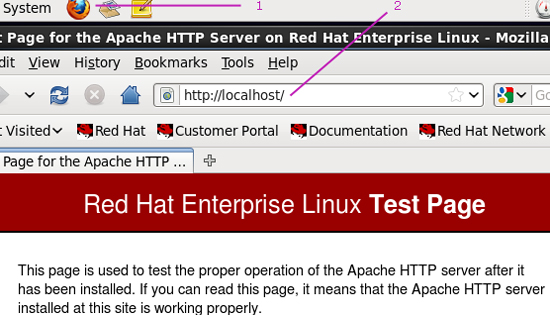 How to Configure Apache Web Server in Redhat Linux