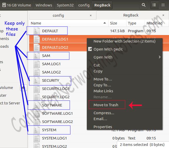 remove additional files